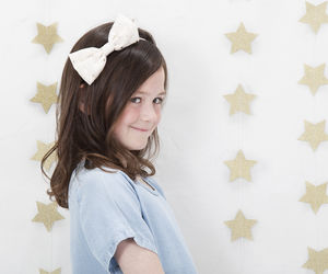 Starry Bow Alice Band - children's accessories
