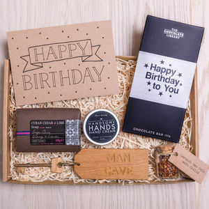 Men's Birthday Letterbox Gift Set