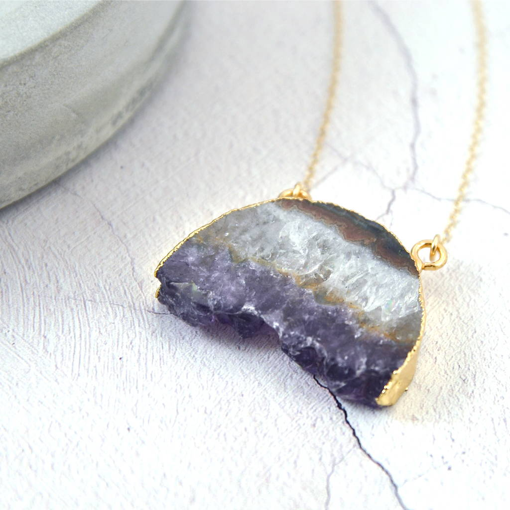 jewelry pendant rtne electroformed fullxfull amethyst necklace raw mineral products il crystal