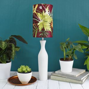 Botanical Design Floral Lampshade - lighting