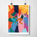 'Dancing With My Love' Art Print
