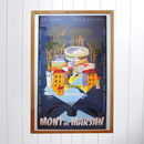 Original Mont De Marsan Travel Poster
