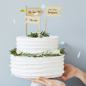 Wedding Cake Toppers And Decorations Notonthehighstreet Com