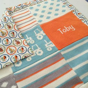 Personalised Tractors Baby Blanket - shop by price