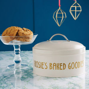 Personalised Cake Tin - kitchen accessories
