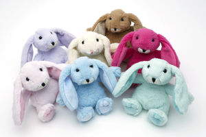 Mini Soft Toy Bunny, Gift Boxed