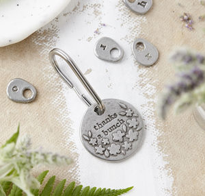 'Thanks A Bunch' Keyring - gifts for her