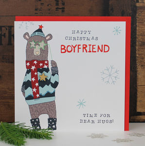Boyfriend Christmas Card