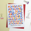 Congratulations For All Occasions Card