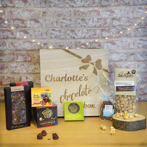 Chocolate Lovers Personalised Hamper