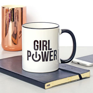 'Girl Power' Mug - tableware