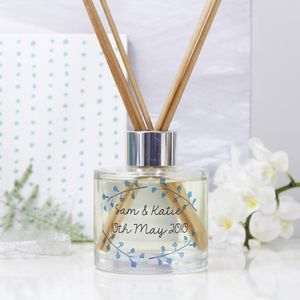 Personalised Anniversary Reed Diffuser Gift Set - housewarming gifts