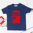 Personalised London Bus Childrens T Shirt