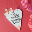 Peach Motif & Bow wire hanger