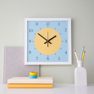 Children S Nursery Clocks Notonthehighstreet Com