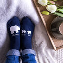 Personalised Polar Bear Mummy Socks