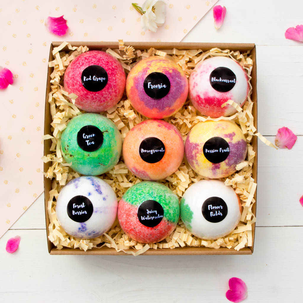 nine rituals bath bomb gift set by soul and soap ...