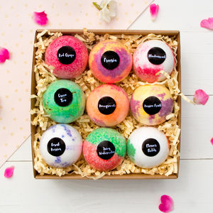 Nine Rituals Bath Bomb Gift Set - bath & body