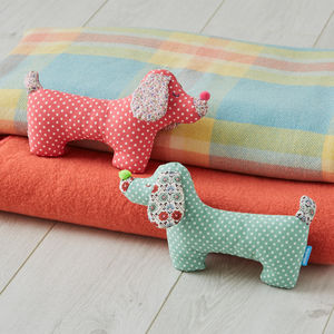 Sausage Dogs Baby Gift Set For Twins