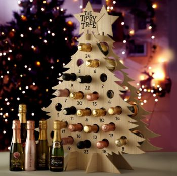 Prosecco Refilable Countdown Advent Tree