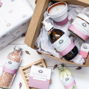 Personalised Eco Luxury Bath Gift Set - gifts for her