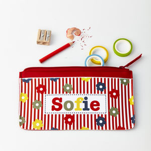 Girls Personalised Pencil Case - stocking fillers