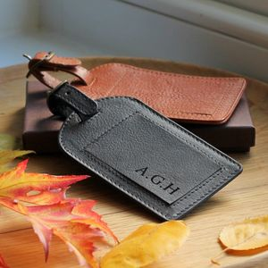 Leather Luggage Tag - accessories