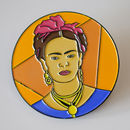 'Frida' Enamel Pin Badge