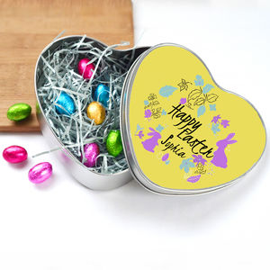 Personalised Easter Egg Chocolate Gift - easter eggs