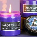 The Tarot Scented Candle With Eye Detail Lid