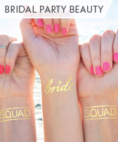 bridal party beauty