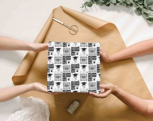 Personalised Graduation Photo Wrapping Paper