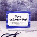 Happy Ordination Day! A6 Card
