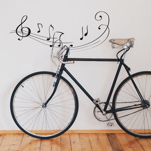 Musical Notes Wall Sticker - music-lover