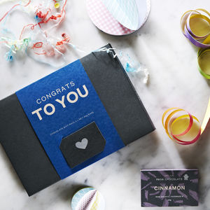 'Congrats To You' Chocolate Gift Pack - graduation gifts
