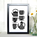 Tea And Coffee Art Print