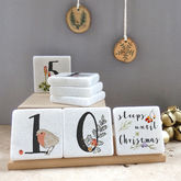 Personalised Christmas Advent Calendar - christmas decorations
