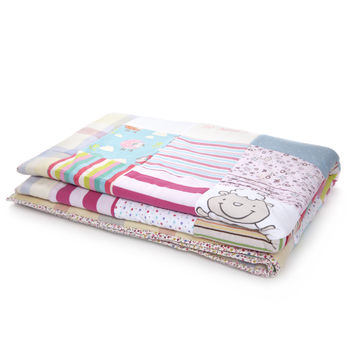 Luxury Baby Clothes Memory Quilts