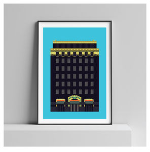 Art Deco London Print, Palladium House Art Print