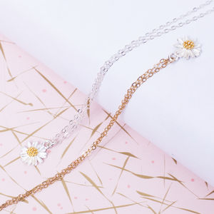 Daisy Necklace - wedding jewellery