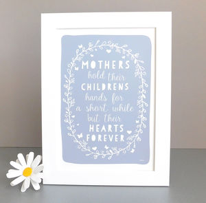 Mother Quote Gift Print