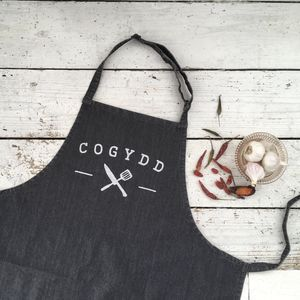 Welsh Cogydd Apron - kitchen accessories