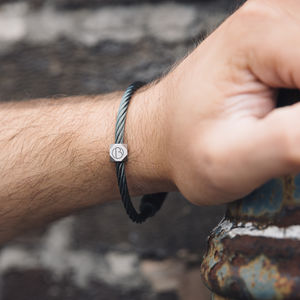 Stainless Steel Petrol Cable Bracelet - new gifts for him
