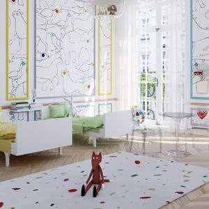 Confetti Wool Rug - rugs & mats