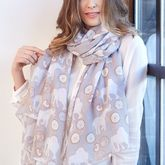 Elephants And Doughnuts Scarf - summer shop