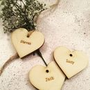 Wooden Heart Place Names