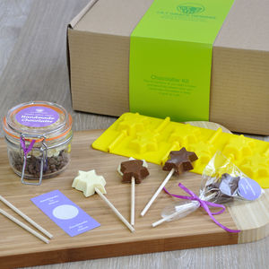 Make Your Own Chocolates: Star Lollipops Kit - creative kits & experiences