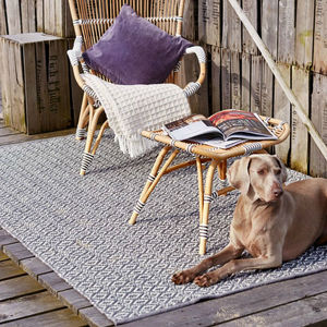 Diamond Cotton Rug - rugs & doormats