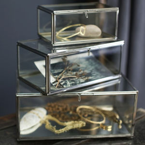 Glass Keepsake Box