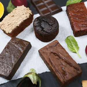 Chocolate Cake And Brownie Lovers Selection Box